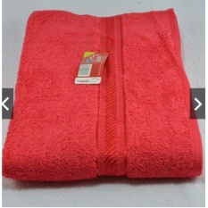 HM Handuk Merah Putih Polos (50 x 100) - Merah