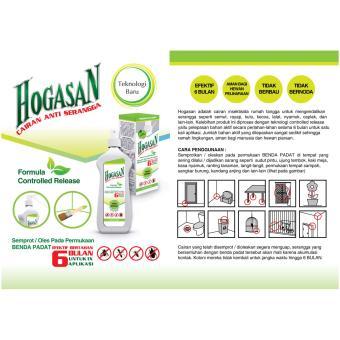 Hogasan obat serangga (spray cairan tahan 6 bulan) - 4
