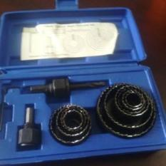 Holesaw Kit Hole Saw Kit Mata Bor Kayu Set 13pcs Benz PROMO