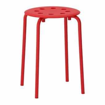 harga IKEA Marius Stool Kursi Meja Makan Rumah Minimalis Bangku Tamu Kafe Restoran Lazada.co.id