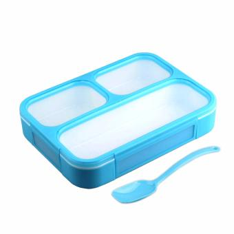 Harga Yooyee Lunch Box Leak Proof 579 - Biru