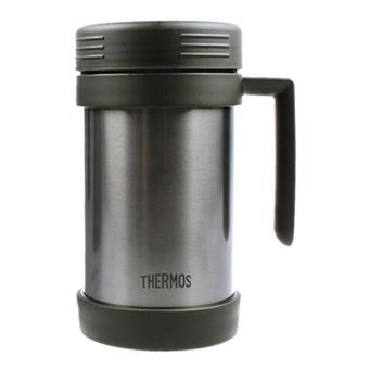 Harga THERMOS JMF-500S Outdoor Mug 0.5L - Black