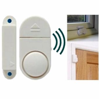 Lucky - Alarm Rumah Canggih Anti Maling - Wireless Door/Window Entry Alarm - 1