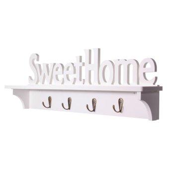 Sweet Home Cantik Potong Kerawang Gaya Rak Dinding Rak Lusuh Dekorasi Dudukan Lilin .