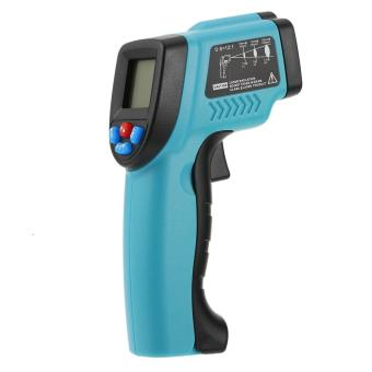 Harga RICHMETERS -50~550�C 12:1 Handheld Non-contact Digital Infrared IR Thermometer Temperature Tester Pyrometer LCD Display - intl