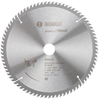"Bosch Mata Gergaji Circular Expert 40T 8"", 216.000, Update. 7 Buah Dremel"