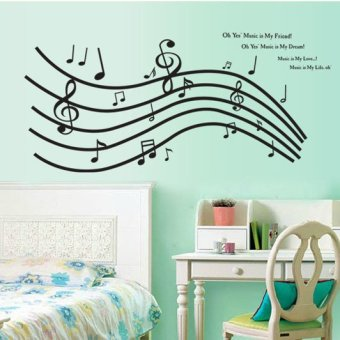 Wall Sticker Stiker Dinding AY9050 - Multicolor