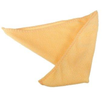 25 cm x 25 cm penyerap serat mikro cuci mobil membersihkan handuk kain lap jeruk
