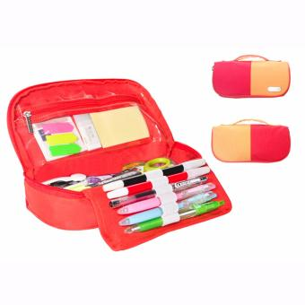 Harga D'renbellony Stationery Organizer (Red) / Tempat pensil / Stationary organizer / Stationery Case / Pencil Case Drenbellony