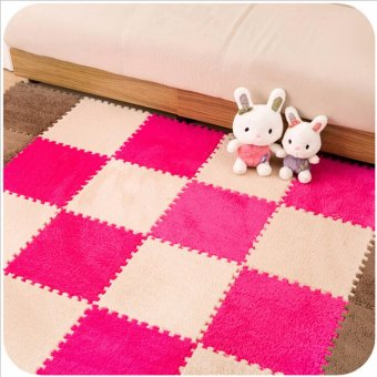 Harga Sale Stitching Bedroom Carpet Living Room Children Tatami Mat Floor Mats Rug Coffee - intl