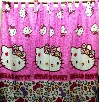 Jaxine Gordyn Motif Kitty Leopard Pink .
