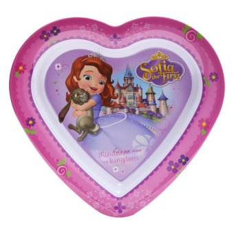 Harga Disney Junior Sofia The First Valentine Plate Pink
