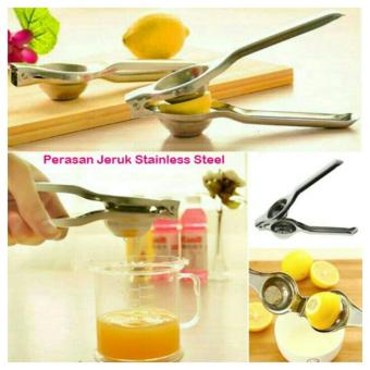 Harga Perasan Lemon Jeruk Nipis Stainless Alat Peras Manual Citrus Extractor