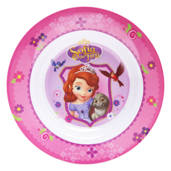 Harga Disney Junior Sofia The First Soup Plate Pink