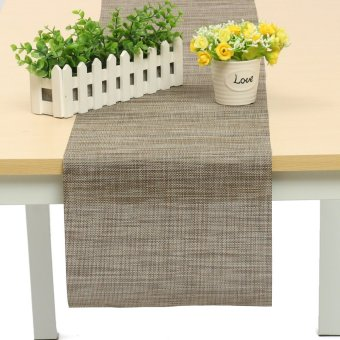 30x150cm Wave New Sherwood Table Runner Party Home Decor Wedding Table Cloth - intl