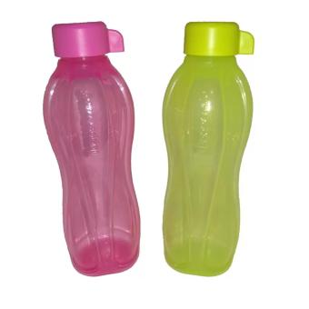Harga Tupperware Eco Bottle 500ml - Hijau Pink 2pcs