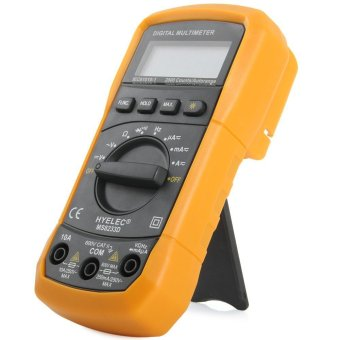Meteran Pengukur Amper Pengukur TEgangan Volt BI508 . Source · HYELEC MS8233D Multifunction .