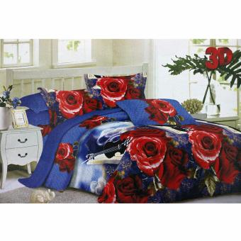 Harga Angel Set Sprei Blue Mariana MS - King 180 x 200