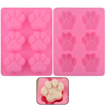 Harga Lovely Dog Cat Paw Fondant Cake Mold Ice Cube Baking Mould Kitchen Gift