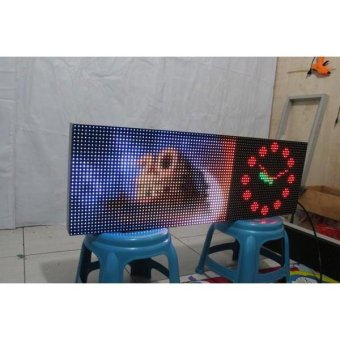 Harga Running Text Full Colour 40x100Cm Wifi Micro VideoTron Full Outdoor