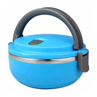 Eco Lunch Box Stainless Steel Rantang 1 Susun Biru ...
