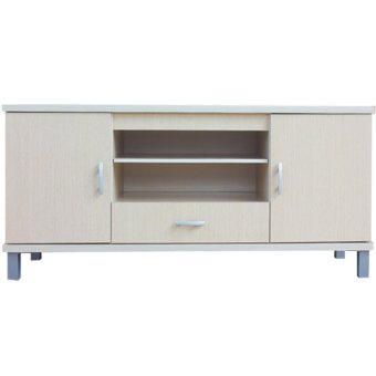 Harga Kirana Rak TV / Audio / Meja TV BF 846 WO - White Oak