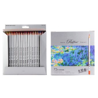 Harga Real Marco 7100-72CB Oil Base Non-toxic Pencils Sketch Drawing