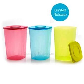 Harga Tupperware Tall Fresh N' Fancy - 3 pcs