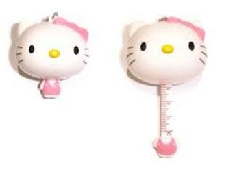... HW Meteran Gulung Mini Karakter HelloKitty Pink 3