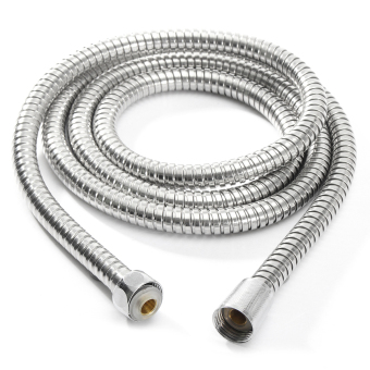 Harga 1m/1.5m/ 2m Bathroom Flexible Shower 1/2' Water Hose Pipe Stainless Steel Chrome 2m - intl