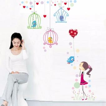 Wall Sticker Stiker Dinding JM7152 Colorful