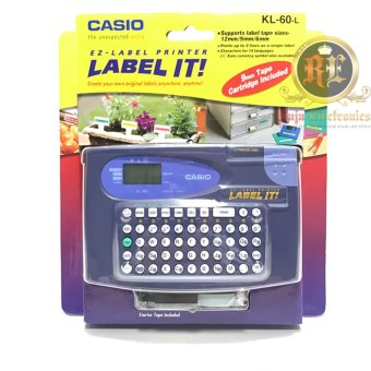 Harga Casio Label Printer Kl 60 L - EZ Casio Label Printer KL60 L