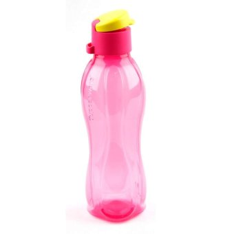 Harga Tupperware Eco Botol 500 ml Flip- Pink