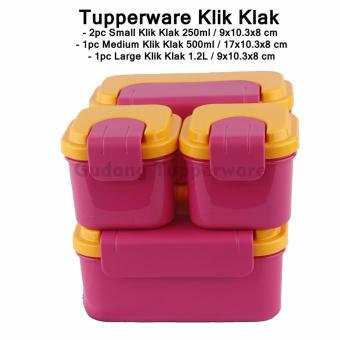 Harga Tupperware Klik Klak Set