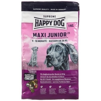 Harga Happy Dog Supreme Young - Maxi Junior - 1 Kg