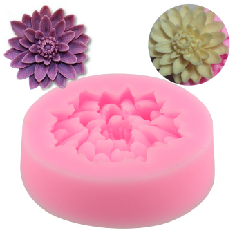 Harga Silicone Mould Lotus Mode Jelly Mold Cake Decorations Fondant Randomly