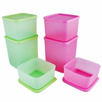 Harga Tupperware summer Fresh -pink hijau