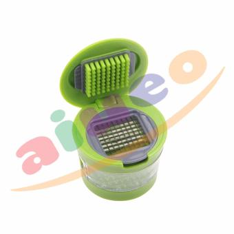 Harga AIUEO Mini Garlic Chopper Alat Pemotong Bawang Manual