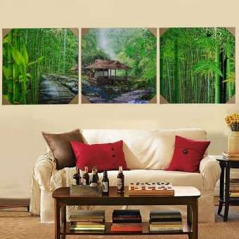 40X60CMNew Hot print Oil Paintings Bamboo Landscape Picture Canvas Painting On Wall Pictures For Living Room Decor Hang Paintings