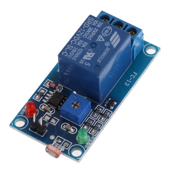 Harga 12V Photoswitch Photoresistance LDR Photoresistor+Relay Module Light Detect
