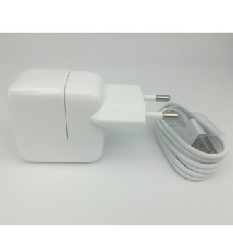 Harga LYBALL Original Apple 12W EU Plug USB Charger with 30 Pin Data Sync Cable for iPhone 4 4S 5S 5 SE 6 6S 7 7Plus iPad Samsung - intl