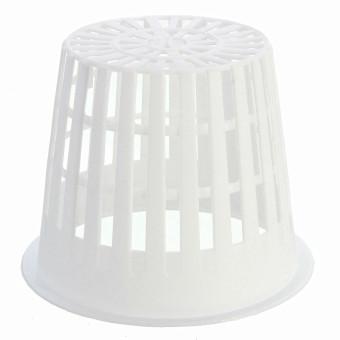 Pot jala jaring keranjang hidroponik aeroponik klon tanaman bunga tanaman Pot piala rumah putih