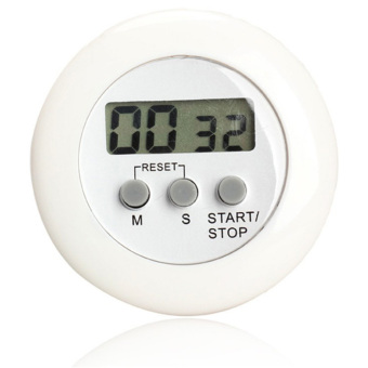 White Sands Timer Masak Dapur Digital / Alarm Minimalis Time Machine