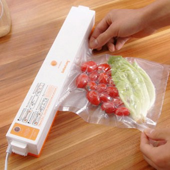 Harga Portable Automatic Electric Vacuum Food Sealer Machine With All Size Vacuum Bag