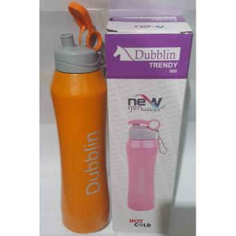Harga Termos Dubblin Durosteel Cold & Hot/Termos Air Durosteel Trendy - Orange