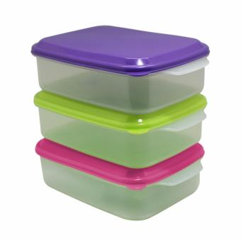 Arniss Seal ware square New Casa RS 0524 Set of 3 Multicolor .