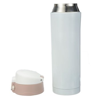Harga Travel Mug Office Tea Coffee Water Cup Bottle Stainless Steel Thermos Cup 500mL (Gold)- intl