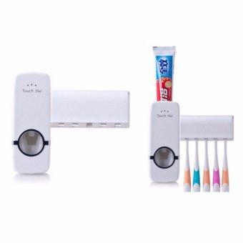 DapurBunda Dispenser Odol / Dispenser Pasta Gigi Odol Otomatis - PUTIH