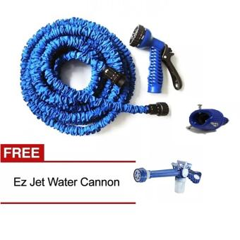 Harga Angel Magic X-Hose Auto Expandable 22.5 m with Connector Type A - Selang Air Fleksibel - Biru + Ez Jet Water Canon