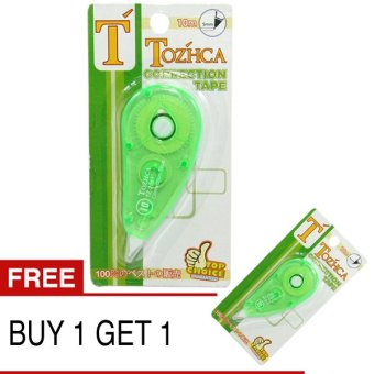 Harga OHOME Buy 1 Get 1 Tozhca Correction Tape MS-TZ-2001 Tipex Tip-x - Hijau